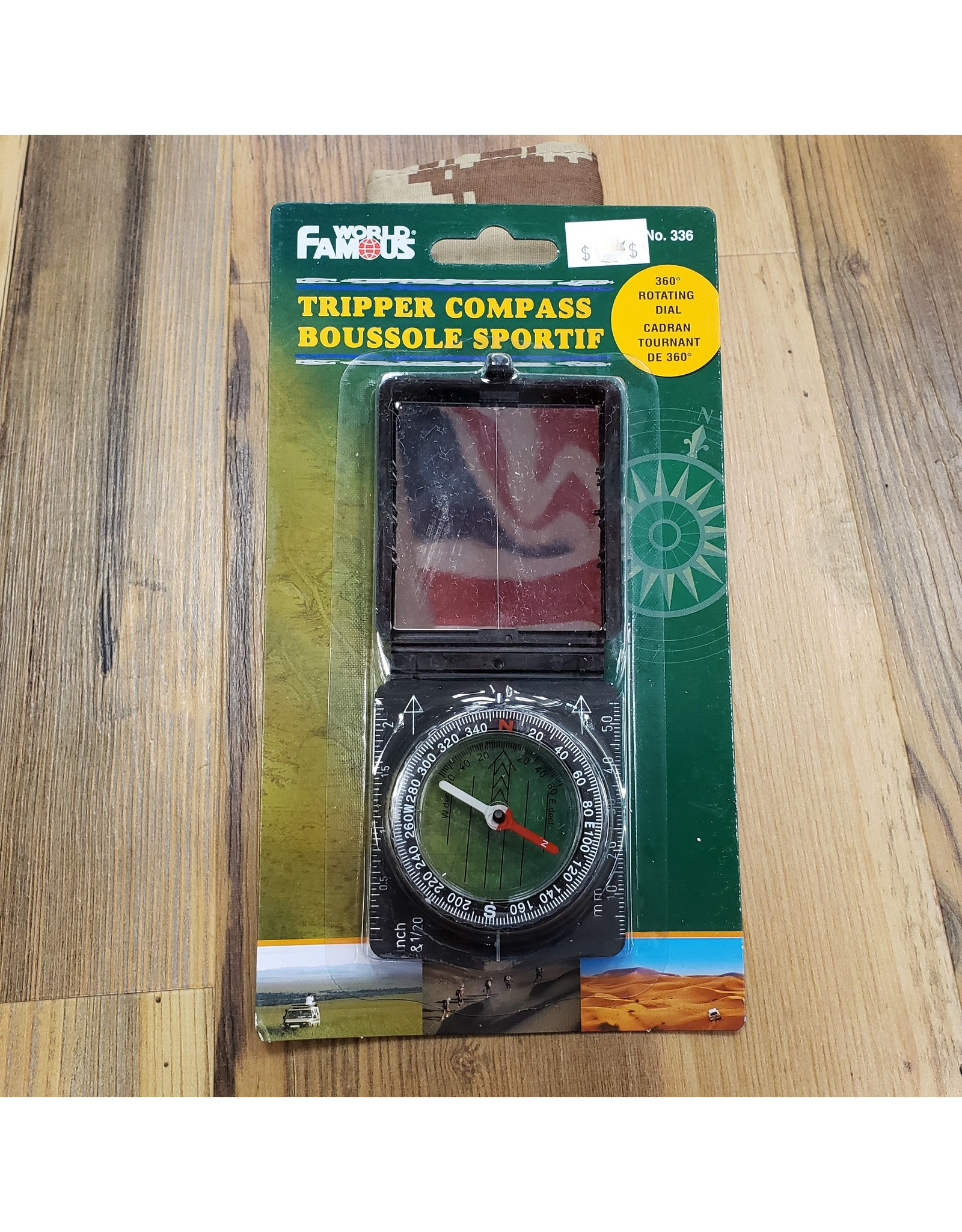 WORLD FAMOUS SALES TRIPPER COMPASS