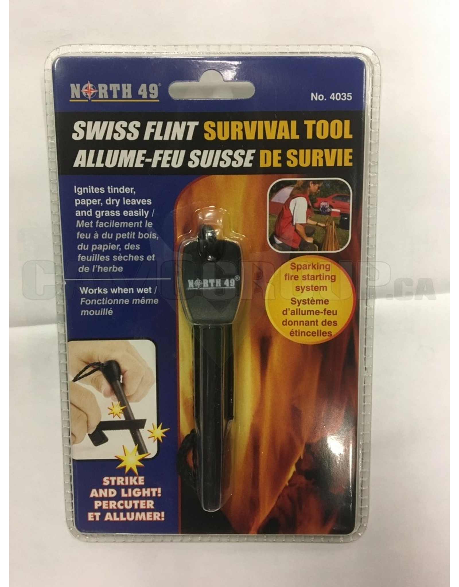 WORLD FAMOUS SALES North 49 Swiss Flint Survival Tool