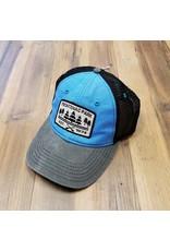 BLUE FRONTENAC PARK SLUB HAT-GREY