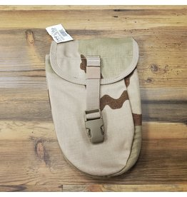 U.S. SURPLUS US DESERT CAMO SHOVEL POUCH
