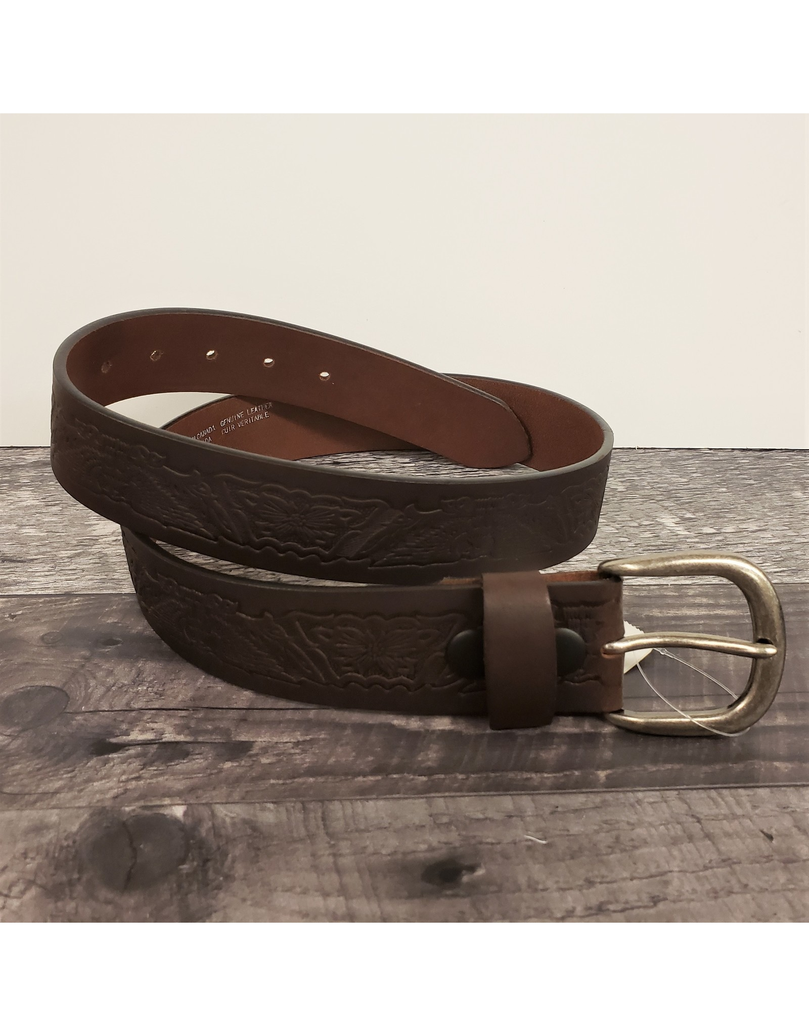Country Leather GENUINE LEATHER BELT (520)