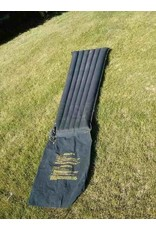 CANADIAN SURPLUS CANADIAN BLACK RUBBER  INFLATE SLEEP MAT USED