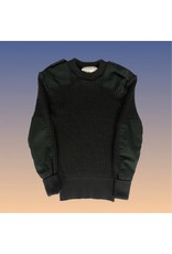 CANADIAN SURPLUS CANADIAN CREW 100% WOOL SWEATER- GREEN