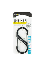 NITE IZE NITE IZE - S-BINER #3, BLACK/25LB - SB3-03-01