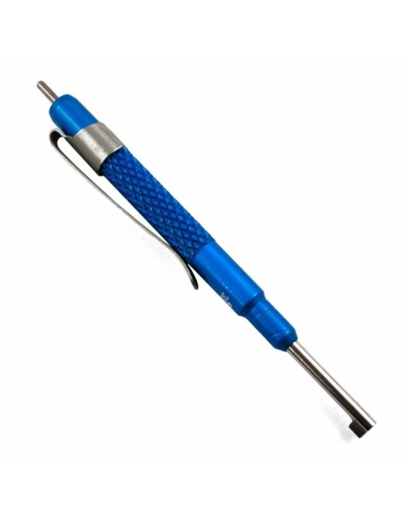 Zak Tool ALUMINUIM HANDCUFF KEY (BLUE)