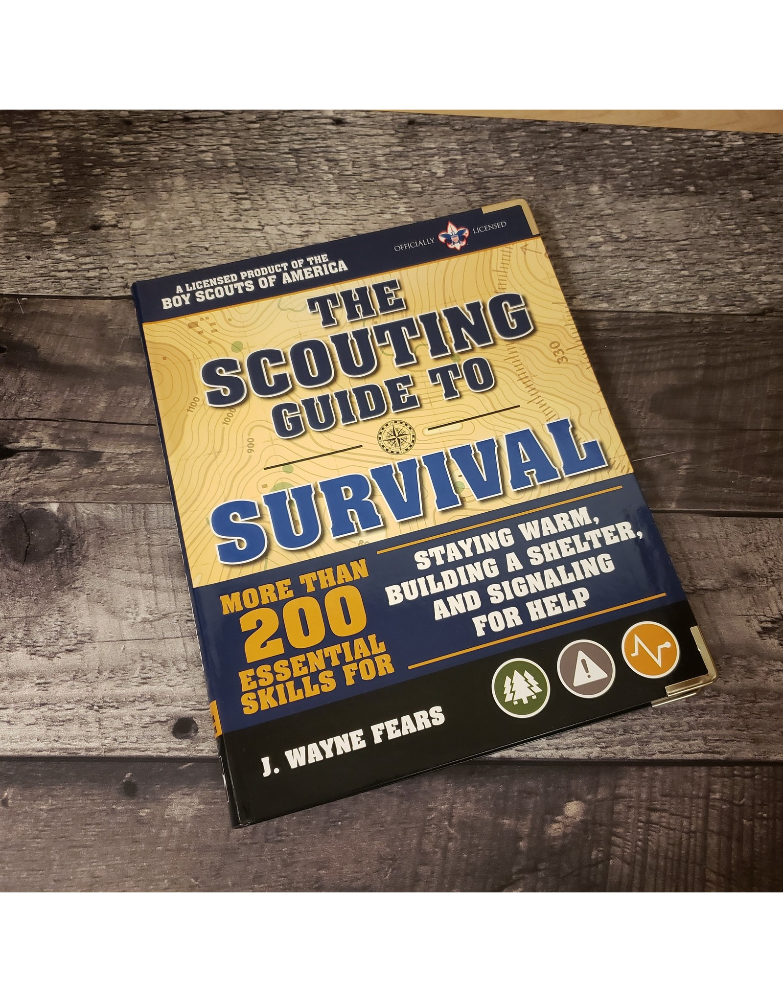 BLUE RIDGE KNIVES SCOUTING GUIDE TO SURVIVAL BOOK