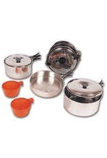 NORTH 49 STAINLESS STEEL 2 PERSON COOK SET