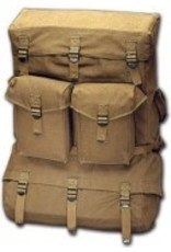 WORLD FAMOUS SALES Canvas Cargo Pack(198)