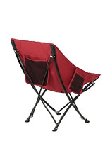 CIRCLE IMPORTS NATURE HIKE PORTABLE FOLDING CHAIR-RED