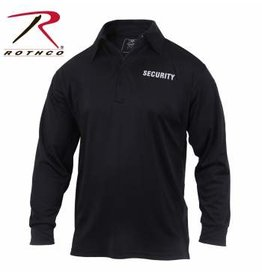 ROTHCO LONG SLEEVE SECURITY POLO