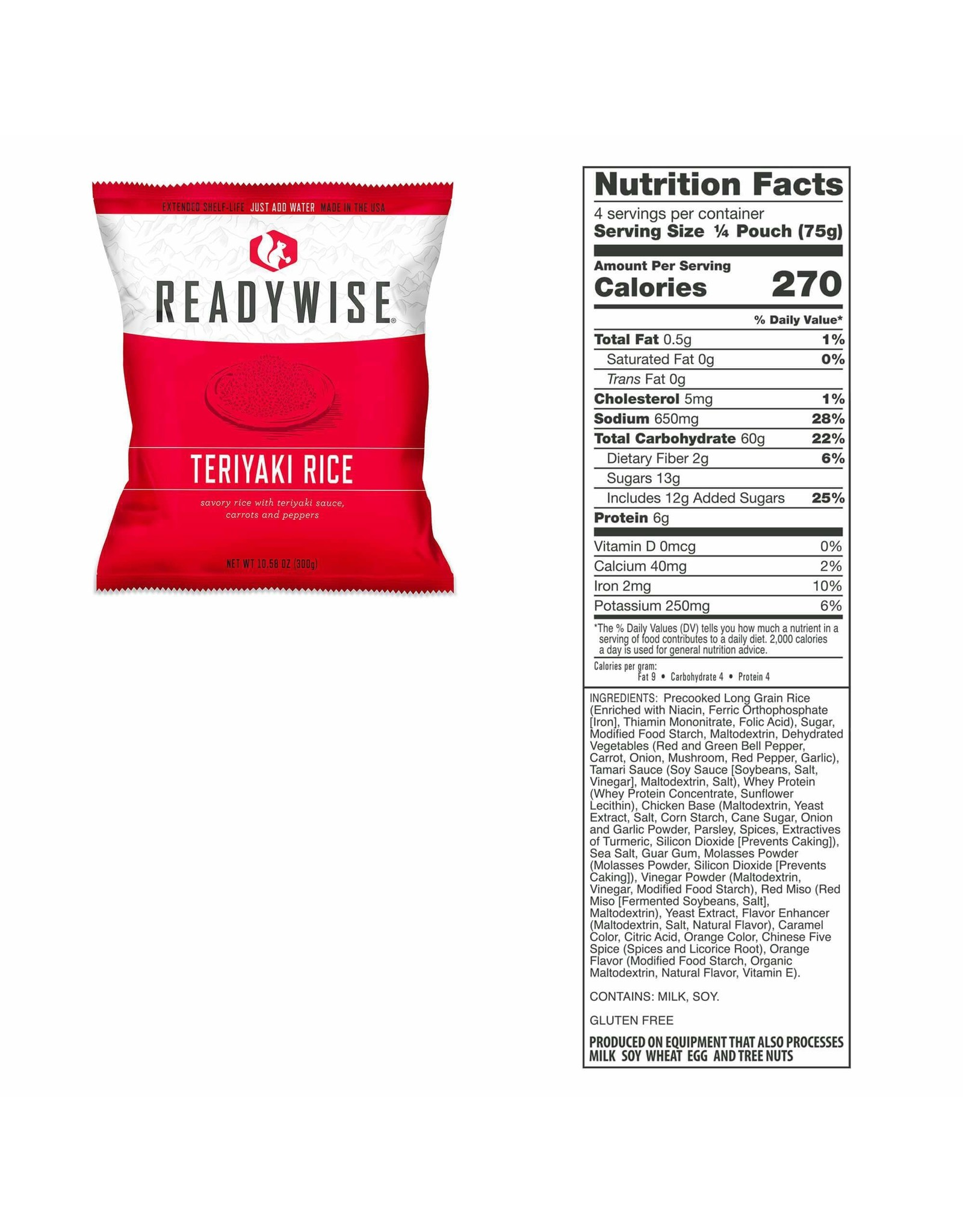 WISE COMPANY EMERGENCY FOOD SUPPLY (60 SERVINGS)