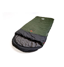 HOTCORE Hotcore- Fatboy 400- Oversized Rectangular Sleeping Bag, Green- 30c/-22f