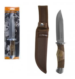 CIRCLE IMPORTS OLYMPIA HUNTING KNIFE WITH WOOD HANDLE
