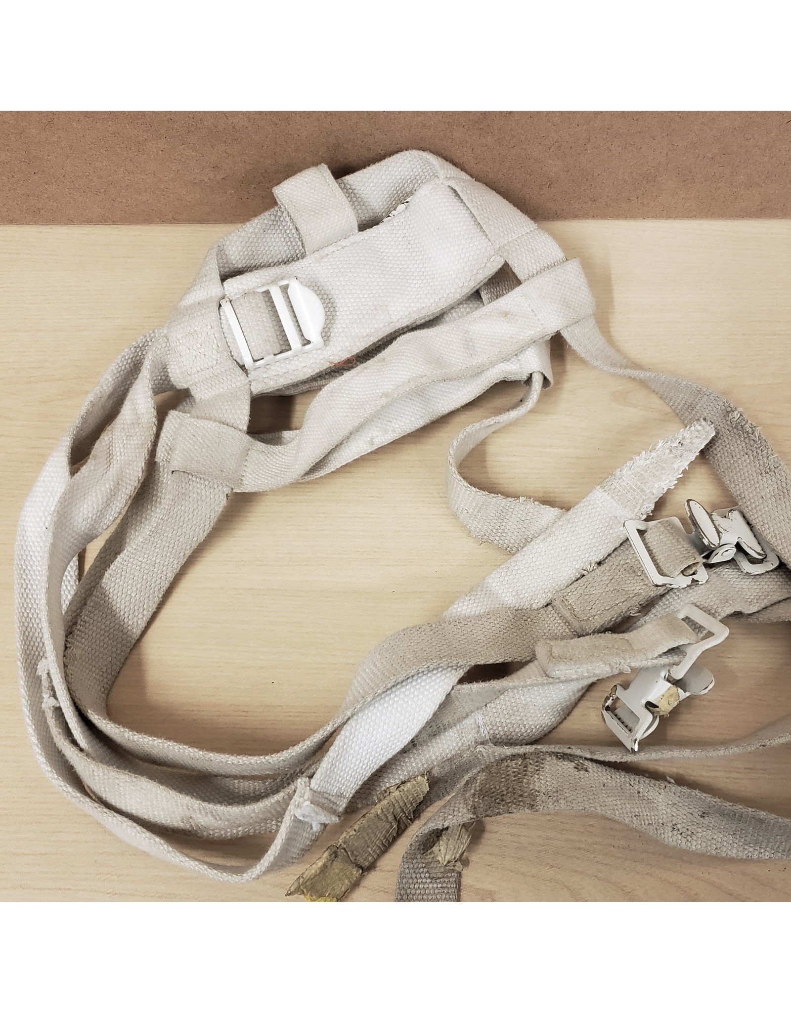 CANADIAN SURPLUS CANADIAN COTTON SNOWSHOE HARNESS USED