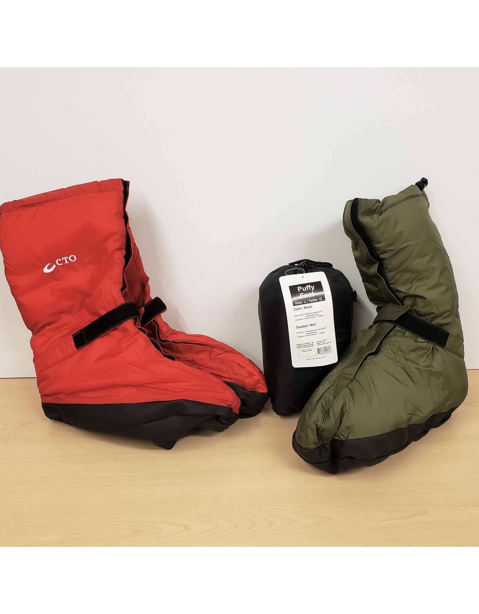 CHINOOK TECHNICAL OUTDOOR CHINOOK PUFFY FEET
