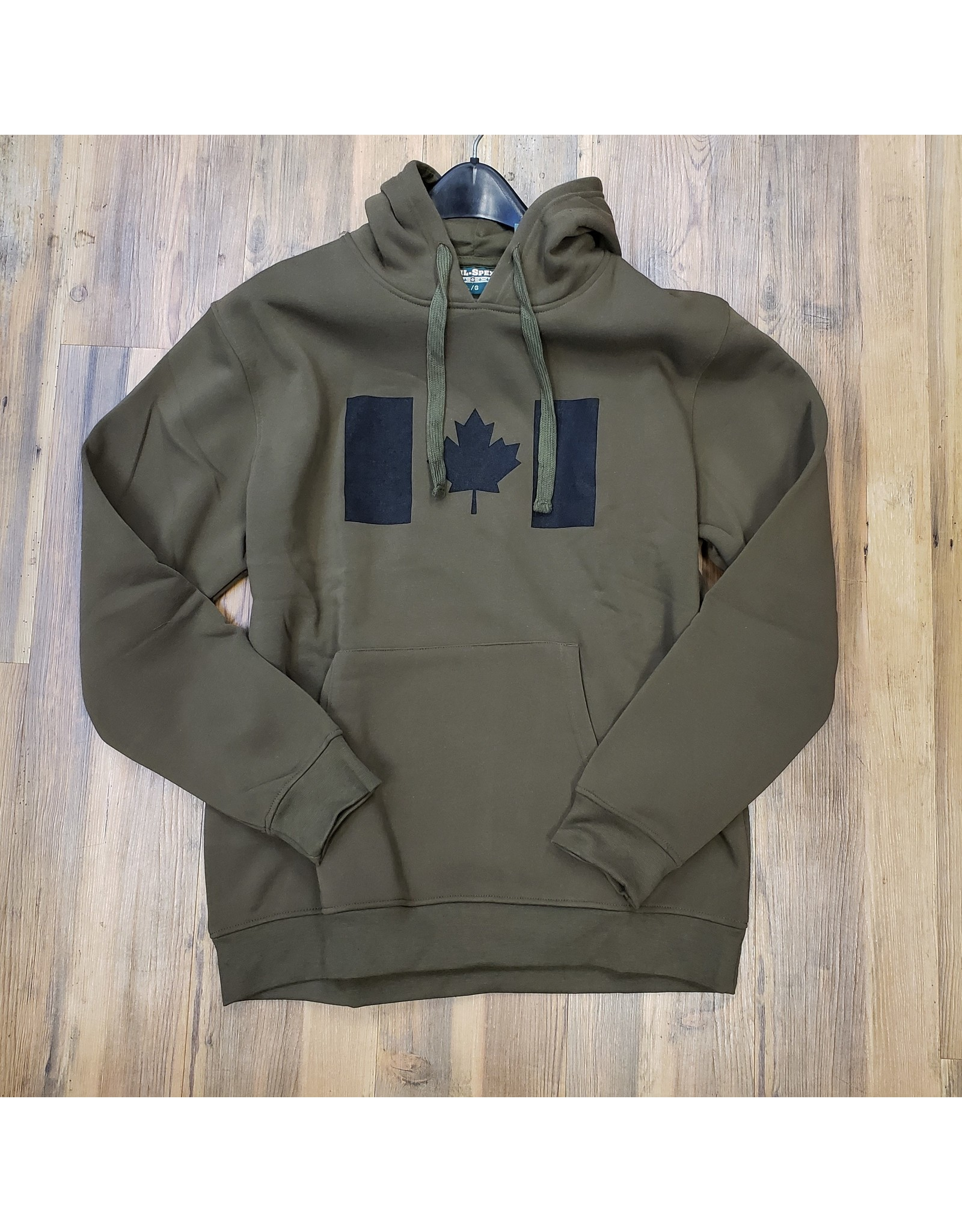 WORLD FAMOUS SALES CANADIAN FLAG HOODIE