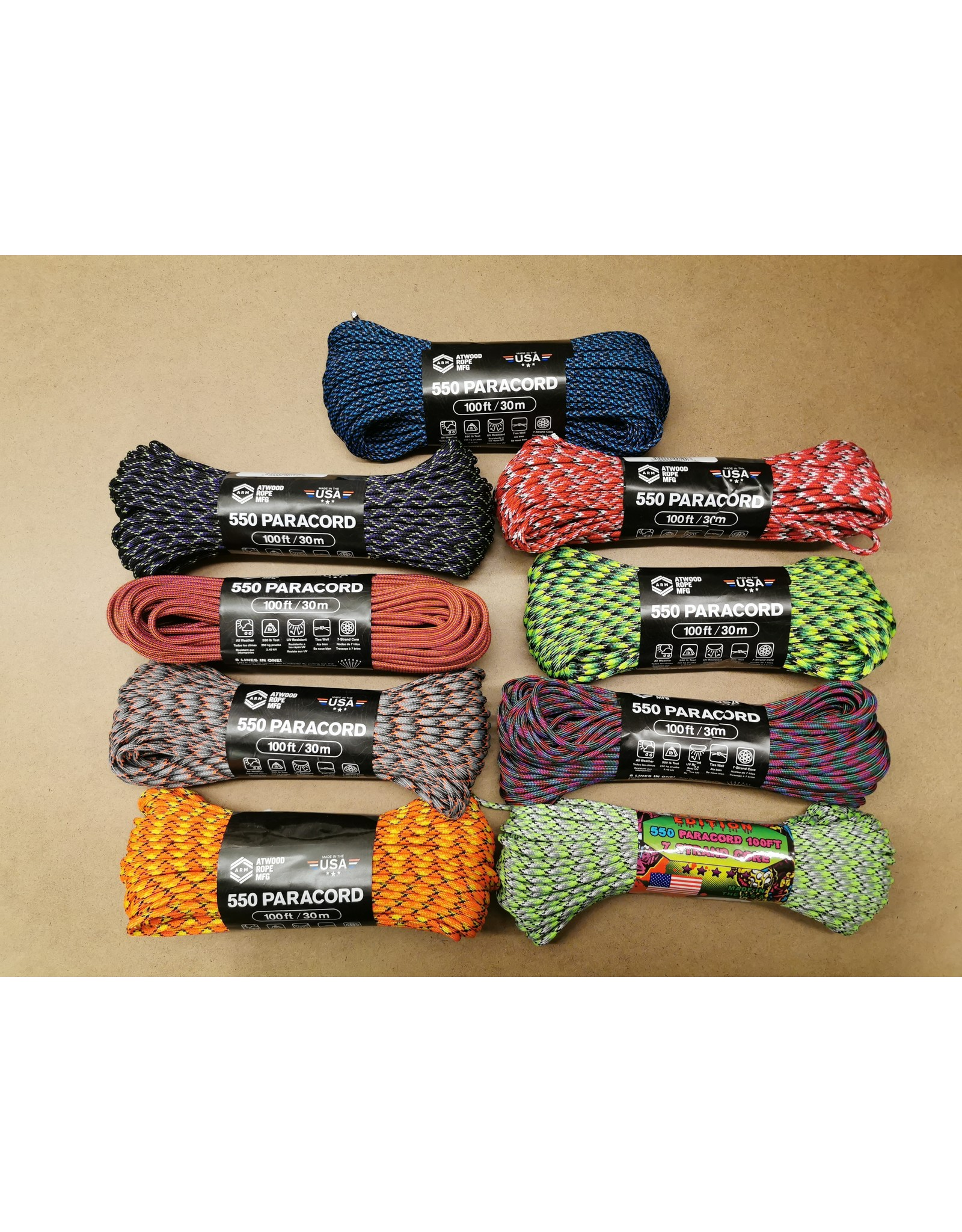 ATWOOD ROPE MFG EVEN MORE PARACORD