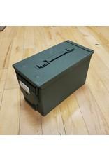 CANADIAN SURPLUS NEW 50 CAL AMMO BOX
