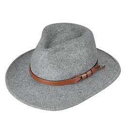 BRONER TEARDROP CROWN SAFARI HAT