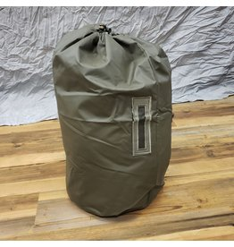 STURM MILSPEC SWISS RUBBER STUFF SACK LIKE NEW OLIVE