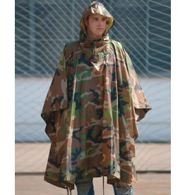Mil-Tec CAMO RIPSTOP WET WEATHER PONCHO