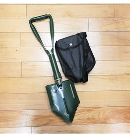 SGS FOLDING SHOVEL WITH BLACK COVER