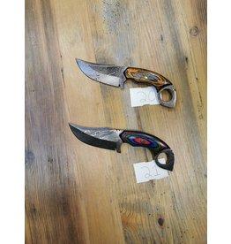 BAJWA ENTERPRISES DAMASCUS FIXED BLADE KNIFE #20 & 21