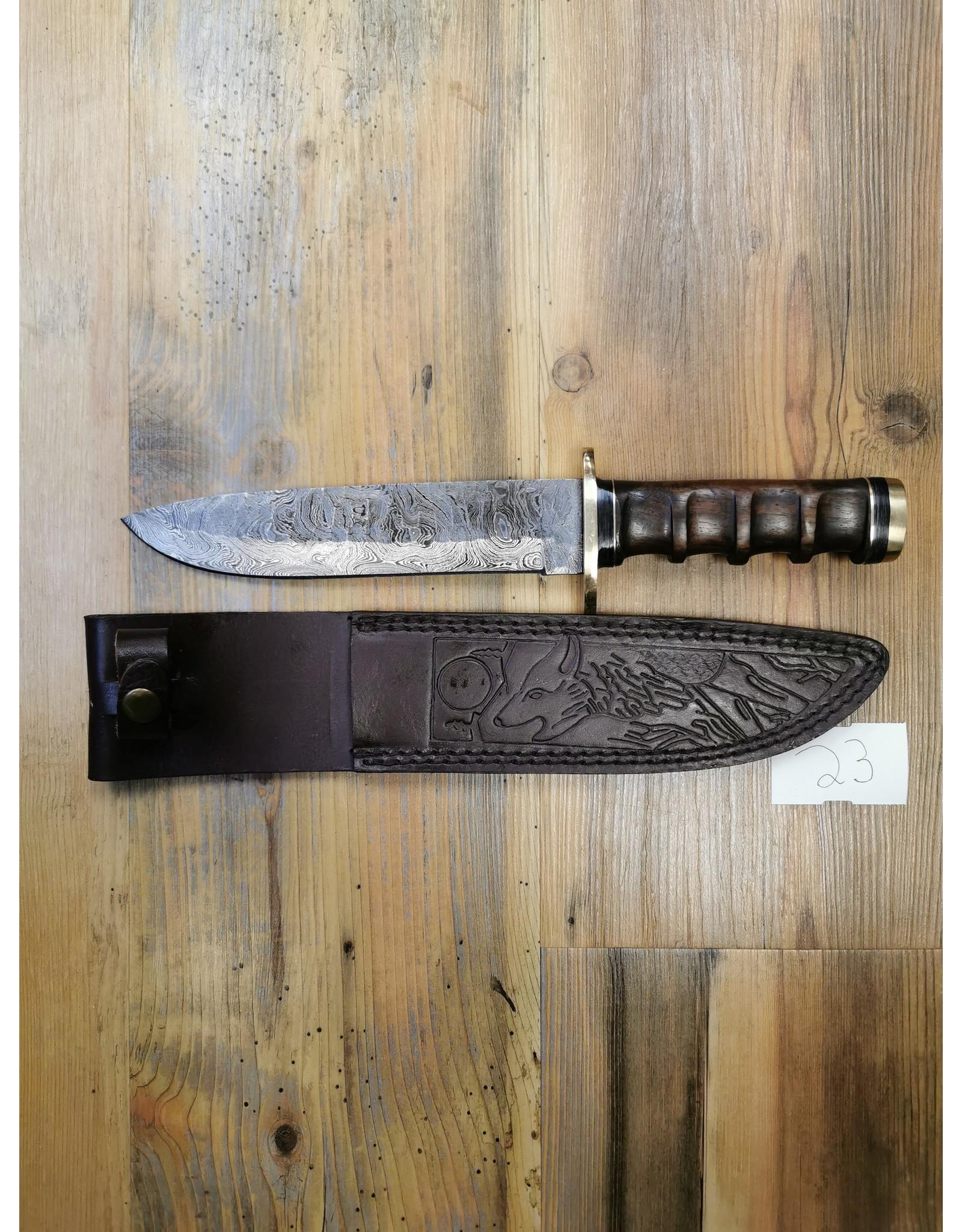 BAJWA ENTERPRISES DAMASCUS LARGE KNIFE #23