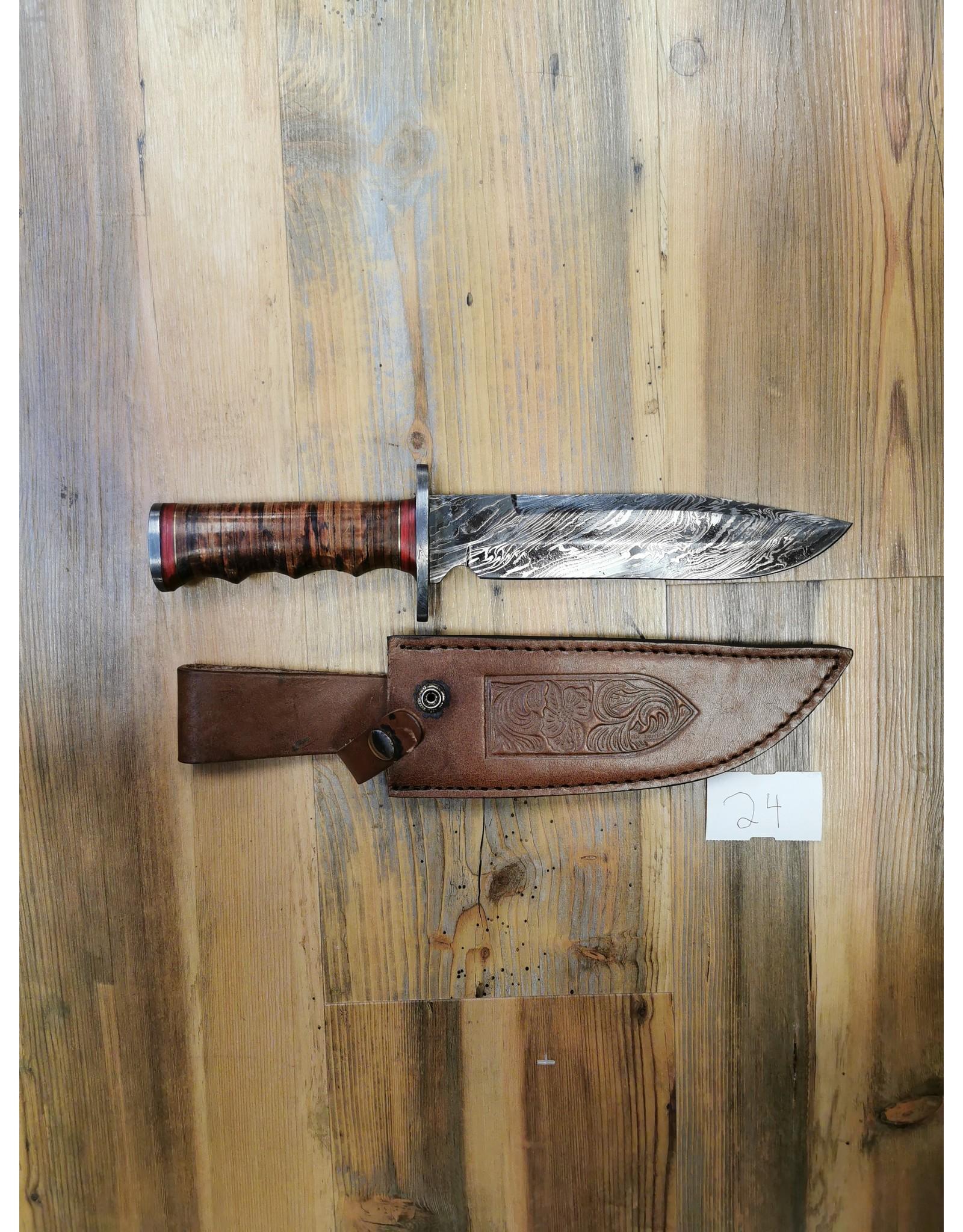 BAJWA ENTERPRISES DAMASCUS LARGE KNIFE #24