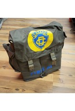 SURPLUS CANADIAN CIVIL DEFENCE FIRST AID POUCH FULL LOADED