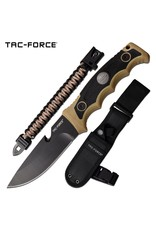 MASTER CUTLERY FIXED BLADE KNIFE WITH PARACORD BRACELET