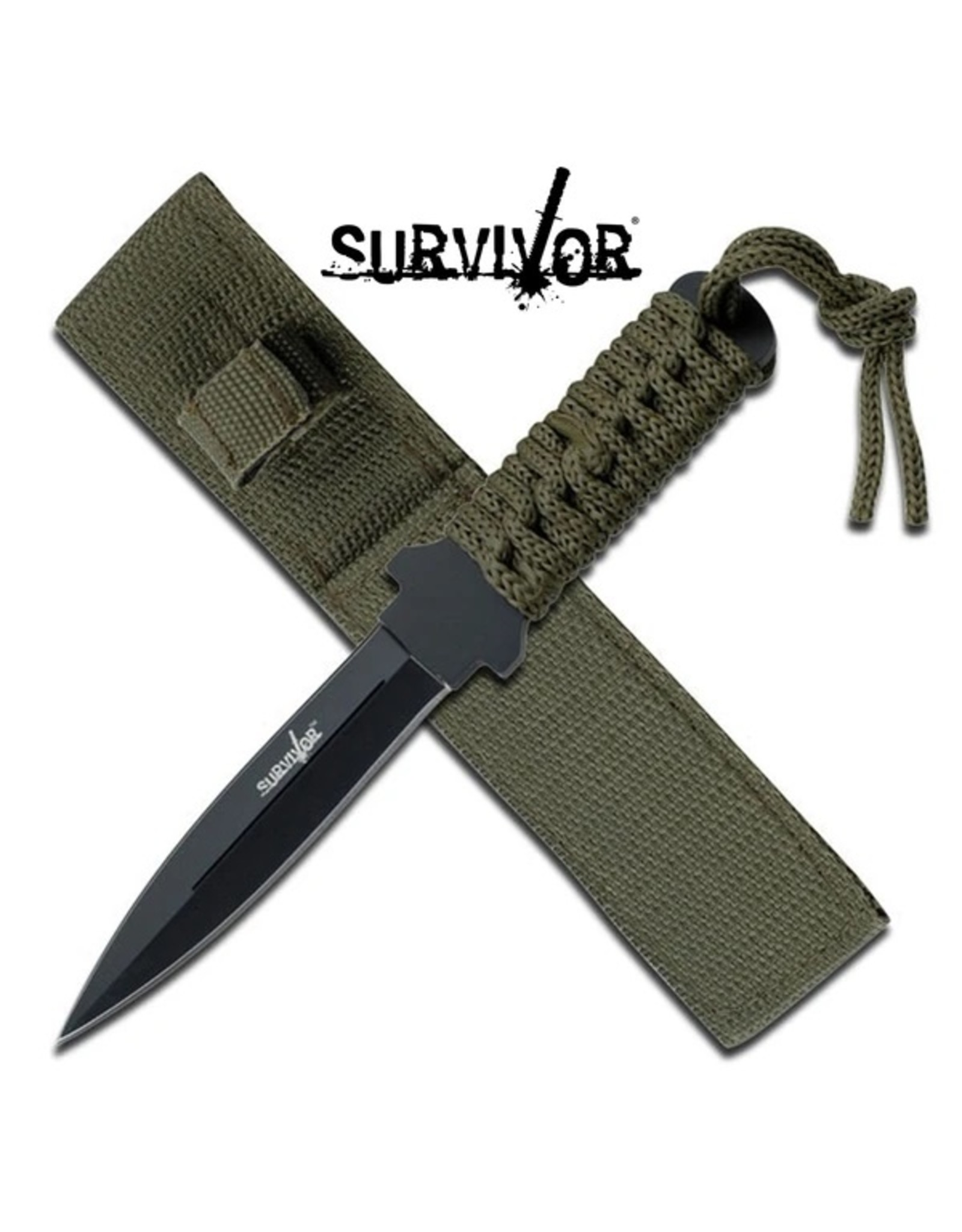 """MASTER CUTLERY OUTDOOR FIXED BLADE KNIFE 7"""" OVERALL"""