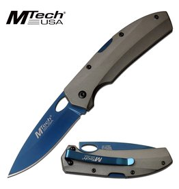 MTECH USA BLUE BLADE MANUAL FOLDING KNIFE