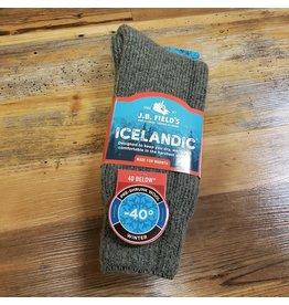 J.B. FIELDS - GREAT SOX ICELANDIC (85% WOOL) SOCKS