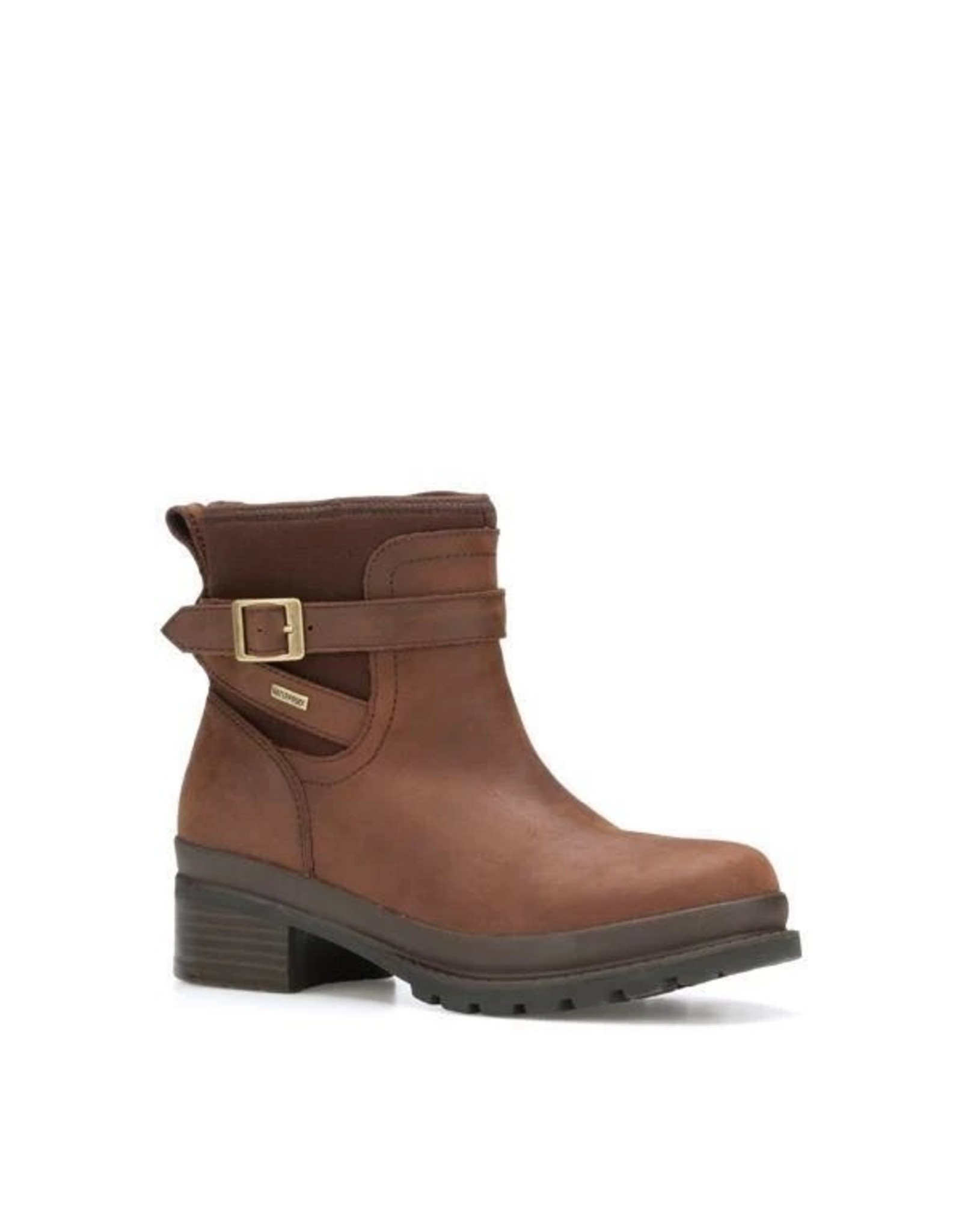 MUCK BOOT COMPANY MUCK LADIES LIBERTY ANKLE LEATHER BOOT LWK-900 BROWN