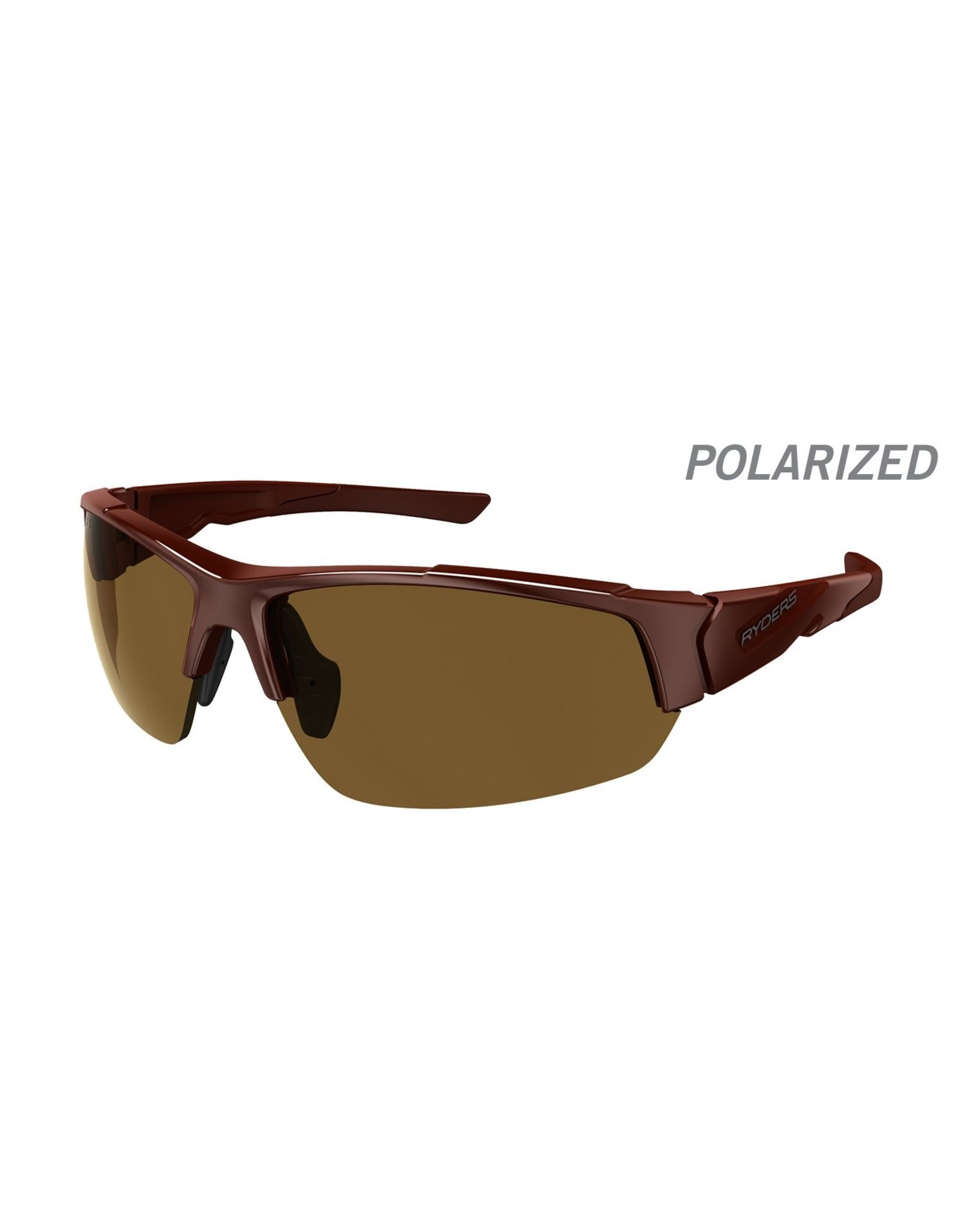 RYDERS STRIDER POLARIZED AR BROWN/BLACK