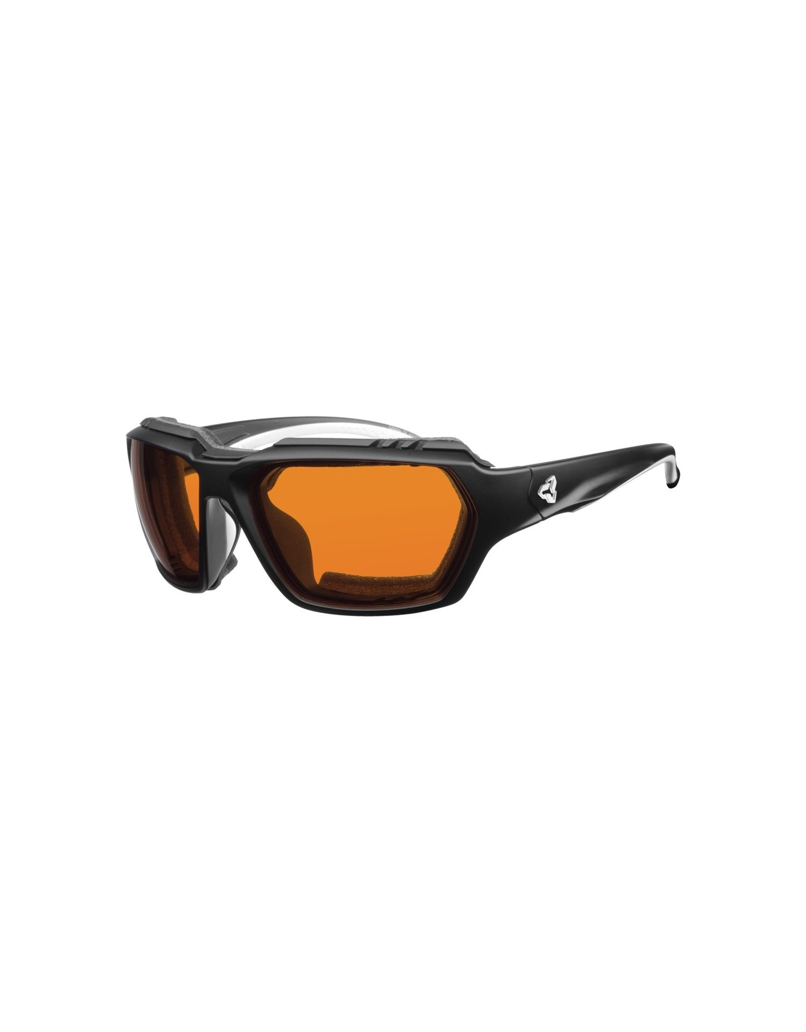 RYDERS FACE GX PHOTO BLACK MATTE / ORANGE LENS 47%-15% ANTI-FOG