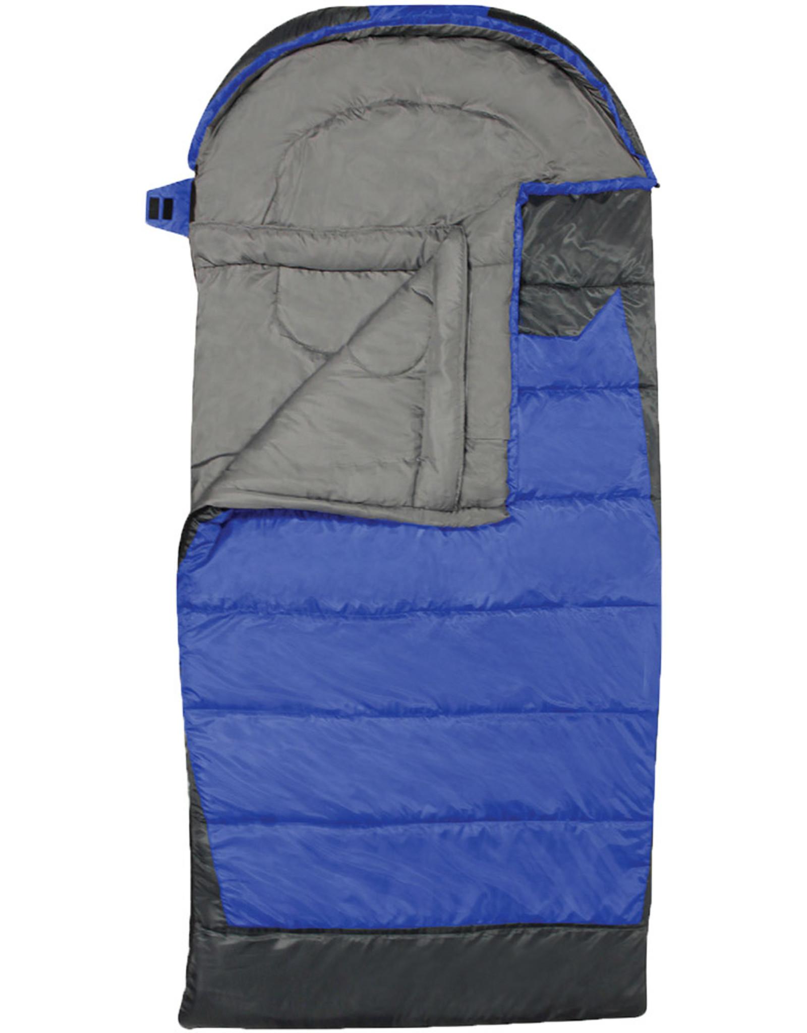 WORLD FAMOUS SALES HEAT ZONE -25C RECTANGULAR SLEEPING BAG