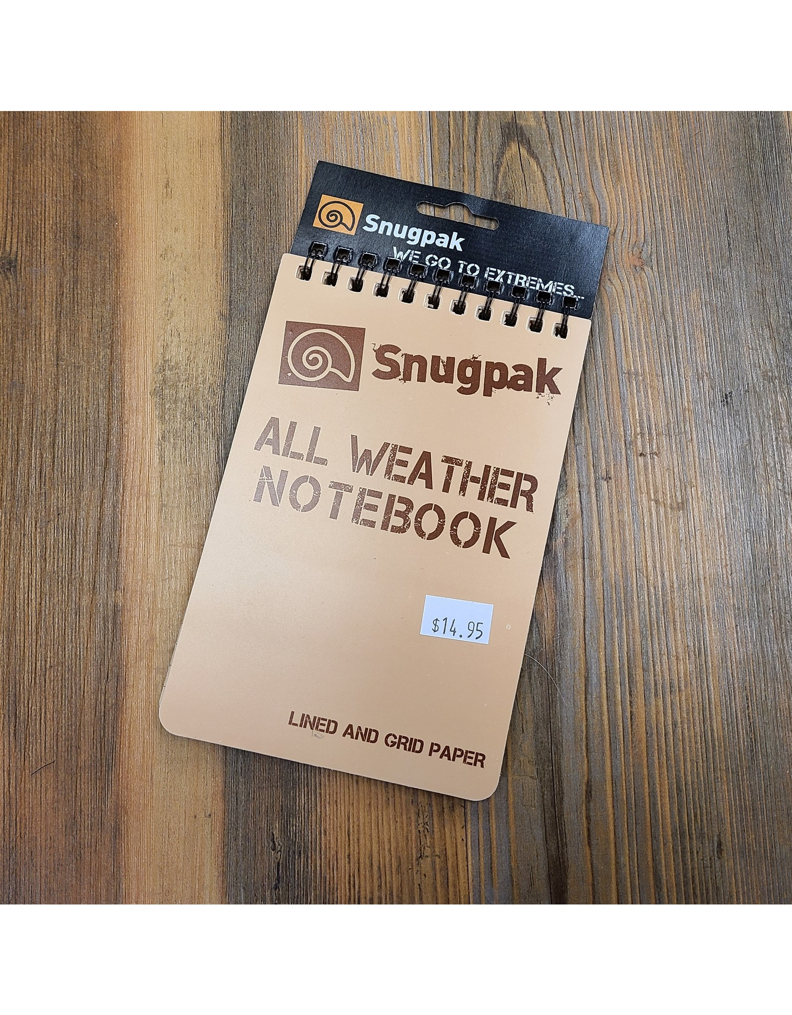 SNUGPAK ALL WEATHER NOTEBOOK