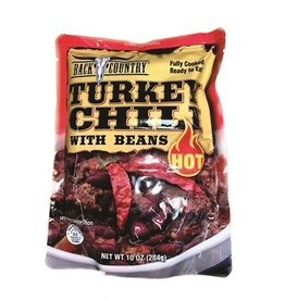 SWISS LINK TURKEY CHILI WITH BEANS (HOT)