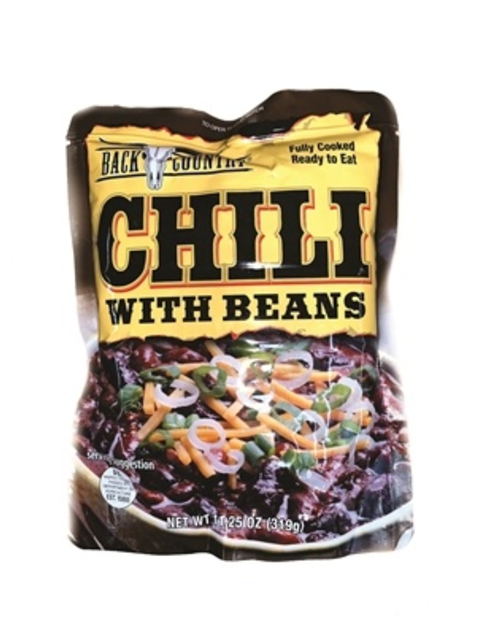 SWISS LINK BACK COUNTRY CHILI WITH BEANS