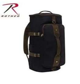 ROTHCO CONVERTIBLE CANVAS DUFFLE / BACKPACK - 19 INCHES