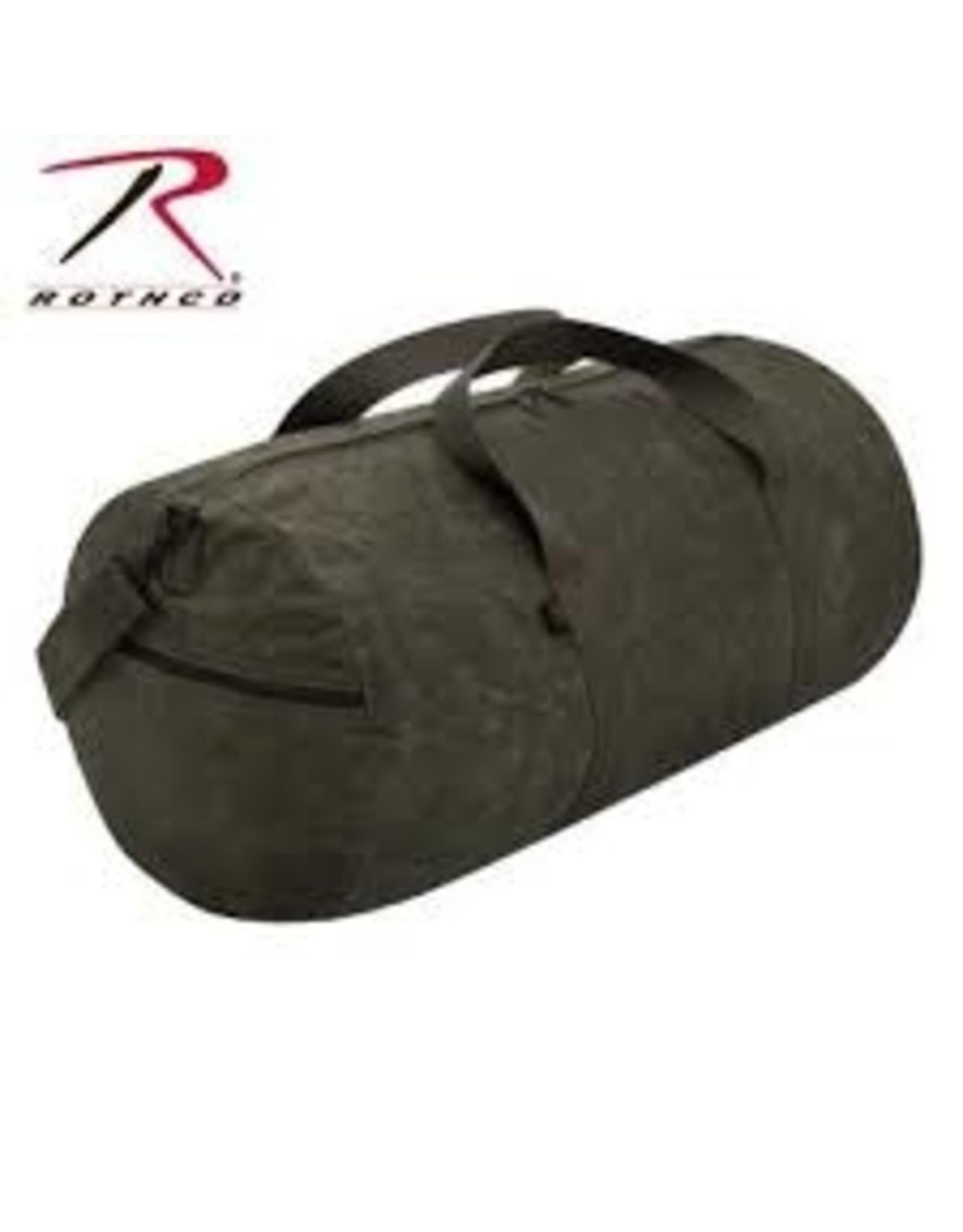 ROTHCO WAXED CANVAS SHOULDER DUFFLE BAG - 19 INCH