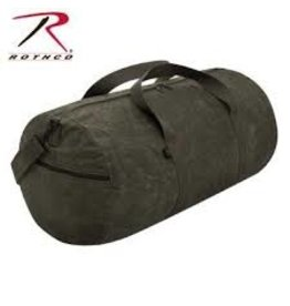 ROTHCO WAXED CANVAS SHOULDER DUFFLE BAG - 19 INCH