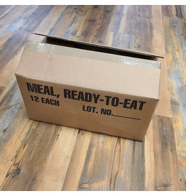 STURM MILSPEC MEALS READY EAT CASE OF 12