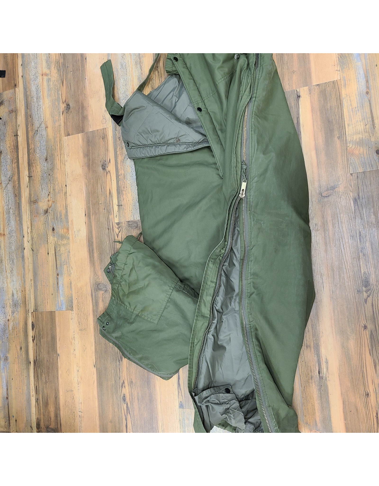 CANADIAN SURPLUS INSULATED ARMY BIB OLIVE PANT 7334