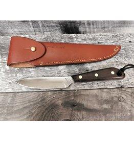 GROHMANN KNIVES #3 FORCES KNIFE CARBON STEEL OVERLAP SHEATH