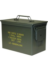 WORLD FAMOUS SALES 5.56MM 800 ROUND AMMO BOX-NEW