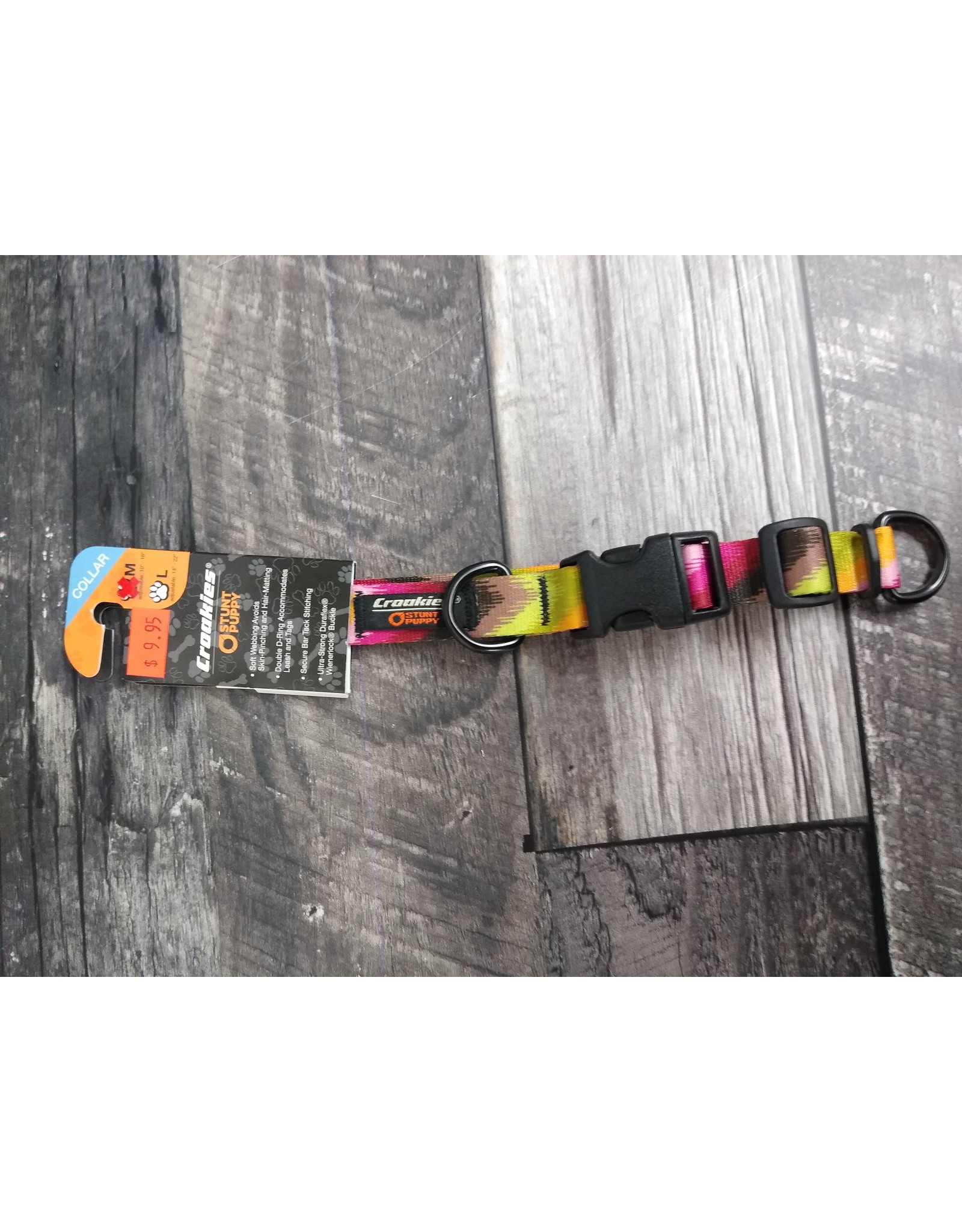 CROAKIES MEDIUM DOG COLLAR