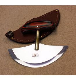 GROHMANN KNIVES GROHMANN ULU WITH LEATHER SHEATH